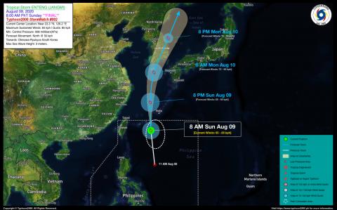 Tropical Storm ENTENG (JANGMI) Final StormWatch