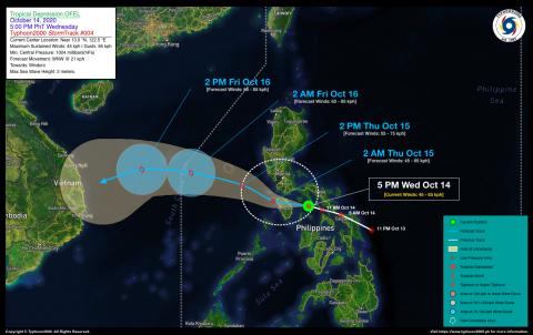 Tropical Depression OFEL Advisory No. 04