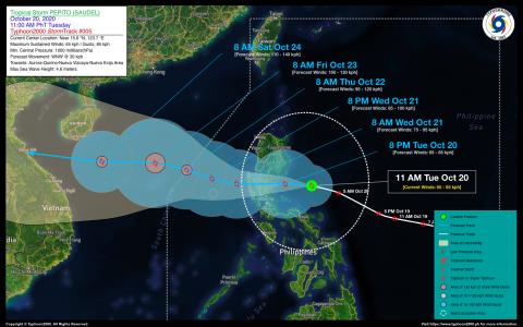 Tropical Storm PEPITO (SAUDEL) Advisory No. 05