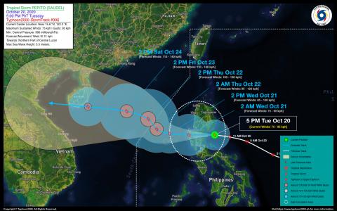 Tropical Storm PEPITO (SAUDEL) Advisory No. 06