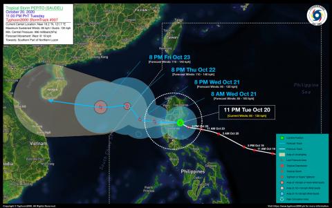 Tropical Storm PEPITO (SAUDEL) Advisory No. 07