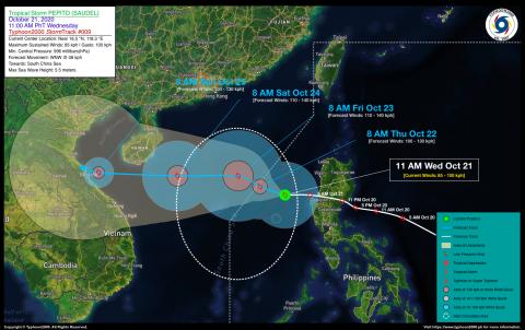 Tropical Storm PEPITO (SAUDEL) Advisory No. 09