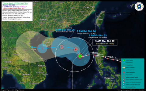 Severe Tropical Storm PEPITO (SAUDEL) Final Advisory