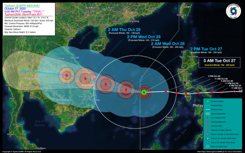 Typhoon QUINTA (MOLAVE) Final Advisory