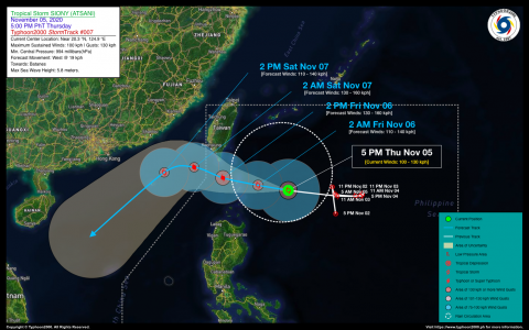 Severe Tropical Storm SIONY (ATSANI) Advisory No. 07