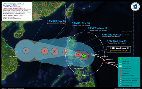 Typhoon ULYSSES (VAMCO) Advisory No. 07