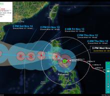 Typhoon ULYSSES (VAMCO) Advisory No. 08