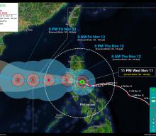 Typhoon ULYSSES (VAMCO) Advisory No. 09