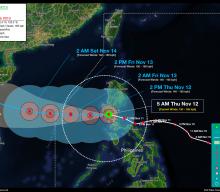 Typhoon ULYSSES (VAMCO) Advisory No. 10