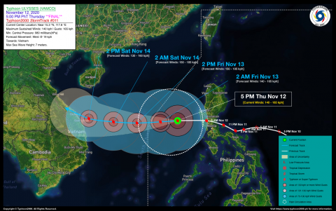 Typhoon ULYSSES (VAMCO) Final Advisory