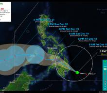 Tropical Disturbance (LPA) StormWatch No. 01