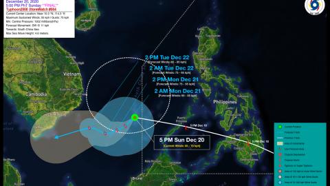 Tropical Depression VICKY (KROVANH) Final StormWatch