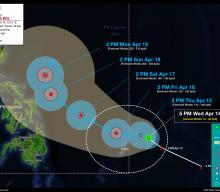 Tropical Storm SURIGAE StormWatch No. 02