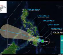 Tropical Storm CRISING Advisory No. 02