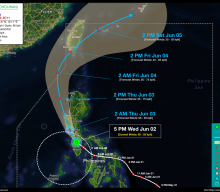 Tropical Storm DANTE (CHOI-WAN) Advisory No. 11