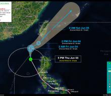 Tropical Storm DANTE (CHOI-WAN) Advisory No. 14