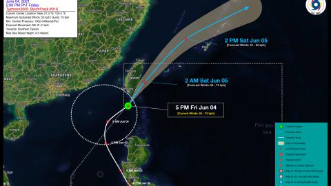 Tropical Depression DANTE (CHOI-WAN) Advisory No. 16