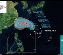 Tropical Depression FABIAN StormWatch No. 02