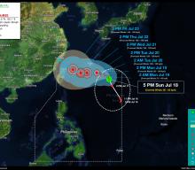 Tropical Storm FABIAN (IN-FA) StormWatch No. 03