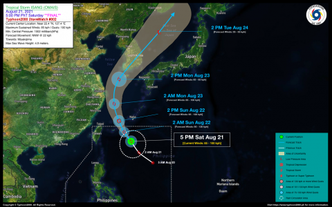 Tropical Storm ISANG (OMAIS) StormWatch No. 02 [FINAL]