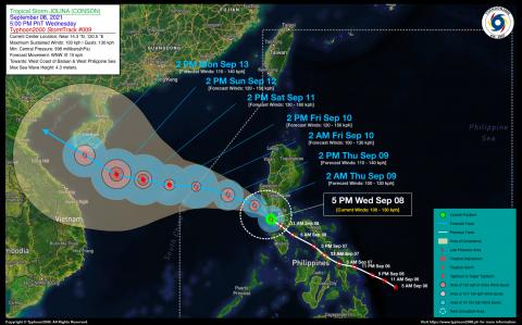 Severe Tropical Storm JOLINA (CONSON) Advisory No. 09