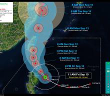 Super Typhoon KIKO (CHANTHU) Advisory No. 05