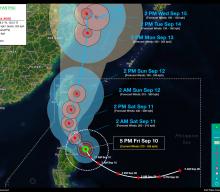 Super Typhoon KIKO (CHANTHU) Advisory No. 06