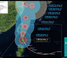 Super Typhoon KIKO (CHANTHU) Advisory No. 07